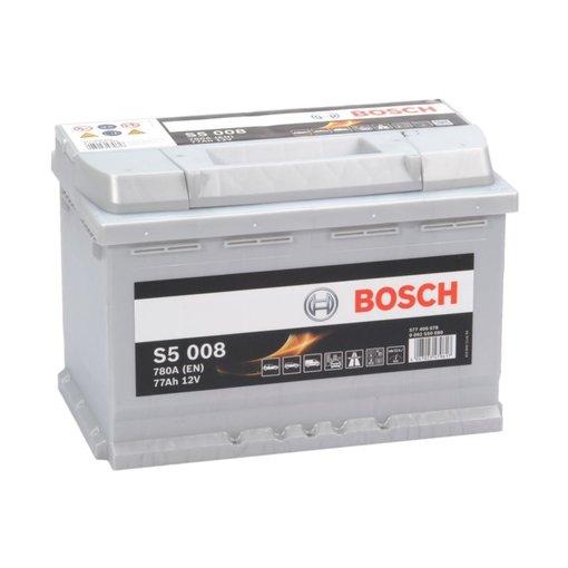 Bosch Auto accu 12 volt 77 ah Type S5008