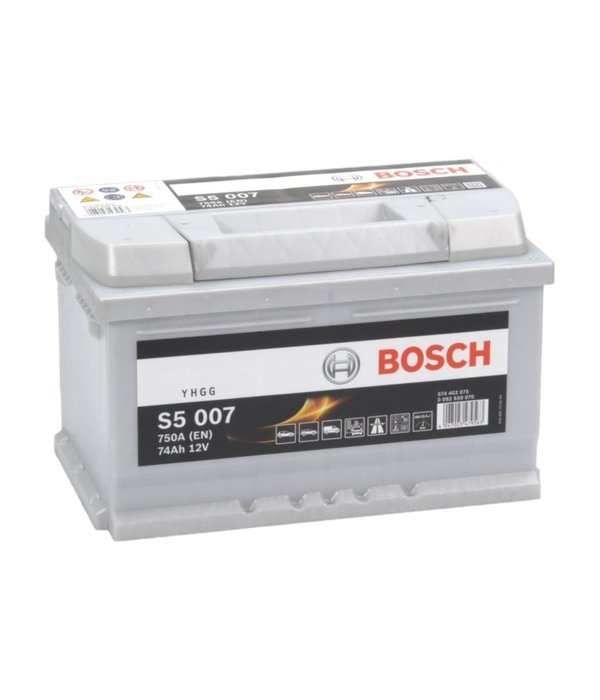 Bosch Auto accu 12 volt 74 ah Type S5 007