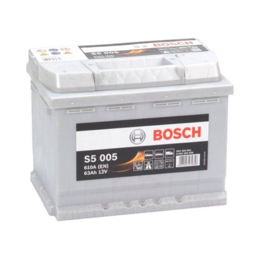 Bosch Auto accu 12 volt 63 ah Type S5005