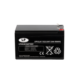 Lithium accu LFP V12,8-7,5 LiFePo4 12 volt 7,5 Ah 96 Wh