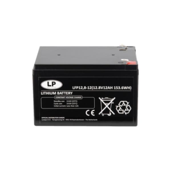 Lithium accu LFP V12-12 LiFePo4 12 volt 12 Ah 153 Wh