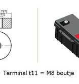 Lithium accu LFP V12,8-100 LiFePo4 12 volt 100 Ah 1280 Wh
