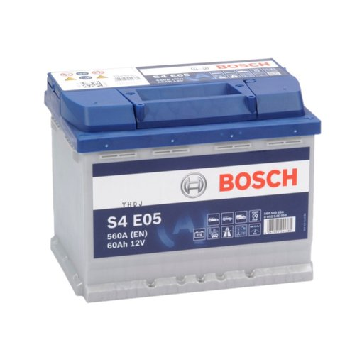 Bosch Auto accu EFB start-stop 12 volt 60 ah Type S4E05