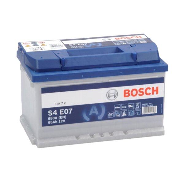 Auto accu EFB start-stop  12 volt 65 ah Type S4E07