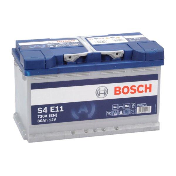 Auto accu EFB start-stop 12 volt 80 ah Type S4E11
