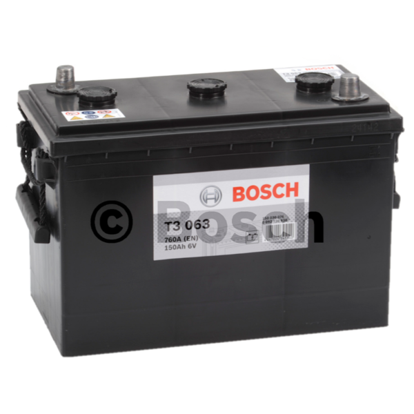 T3063 start accu 6 volt 150 ah