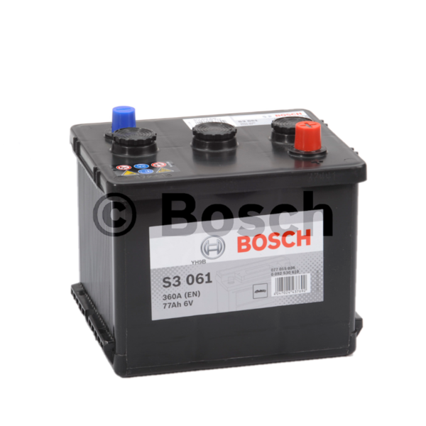 S3061 start accu 6 Volt 77 ah