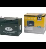 SLA 12-24 grasmaaier / motor accu 12 volt 24,0 ah