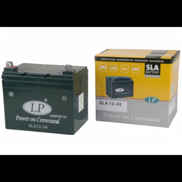 SLA 12-24 motor / grasmaaier accu 12 volt 24 ah