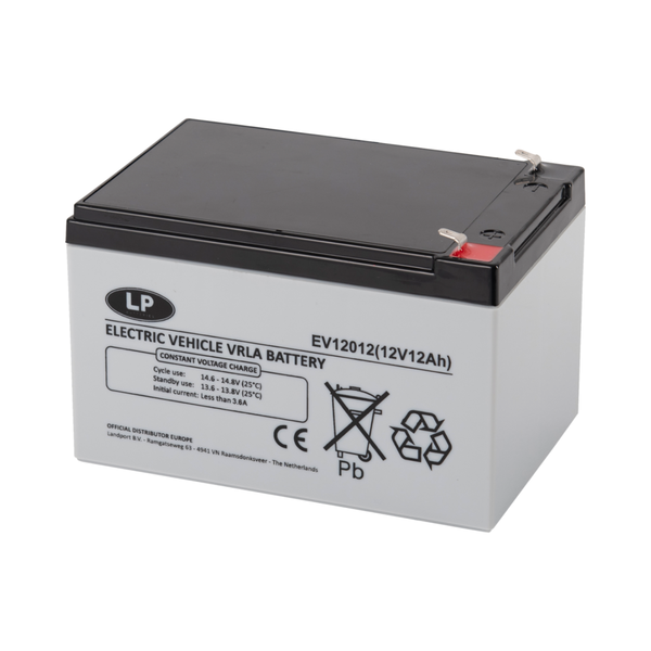 EV12012 accu 12 volt 12 ah Electric Vehicle VRLA Battery