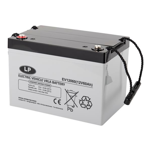 EV12060 accu 12 volt 60 ah Electric Vehicle VRLA Battery