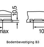 Bosch Startaccu 12 volt 110 ah T3 038 Black truckline