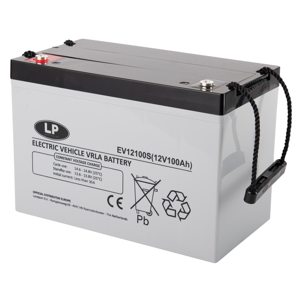 EV12100S accu 12 volt 100 ah Electric Vehicle VRLA Battery (12-100)