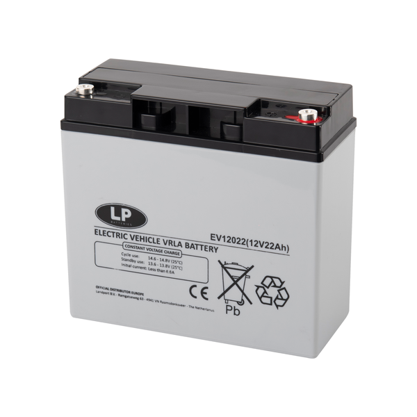 EV12022 accu 12 volt 22 ah Electric Vehicle VRLA Battery
