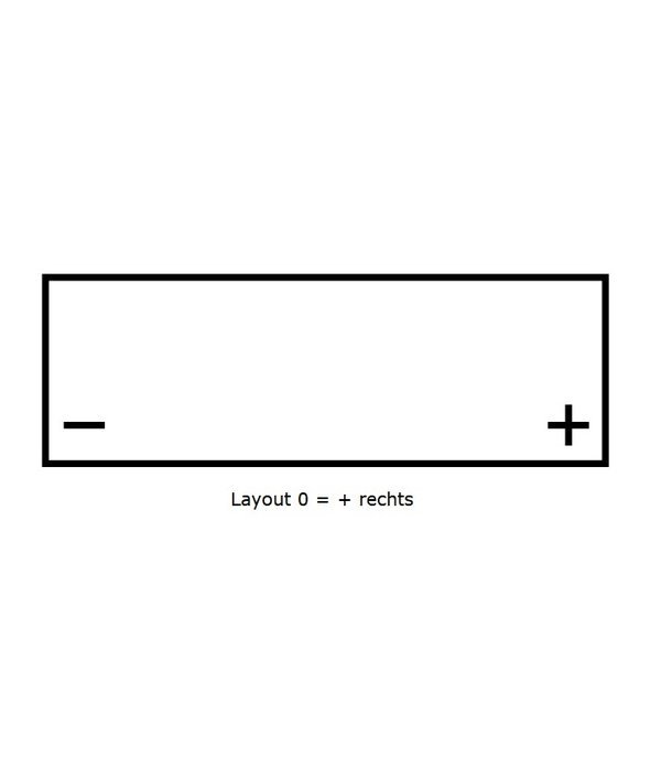 Dynac Semi tractie accu 12 volt 105 ah Type 95804 SMF