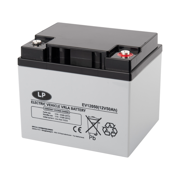 EV12050 accu 12 volt 50 ah Electric Vehicle VRLA Battery