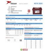 Trojan 30XHS Deep-Cycle accu 12 volt 130 ah