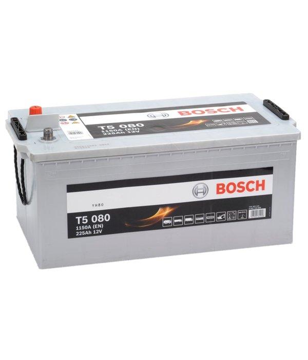 Bosch Startaccu 12 volt 225 ah T5 080 Silver truckline