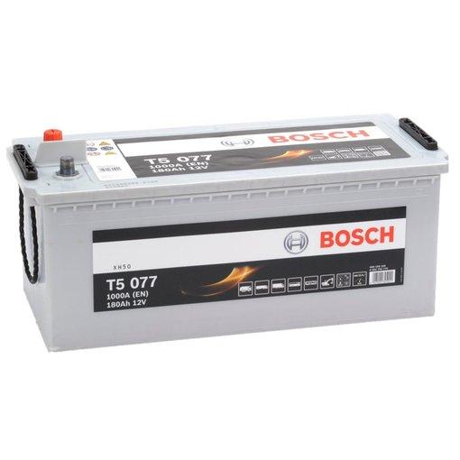 Bosch Accu 12 volt 180 ah T5077 Silver truckline