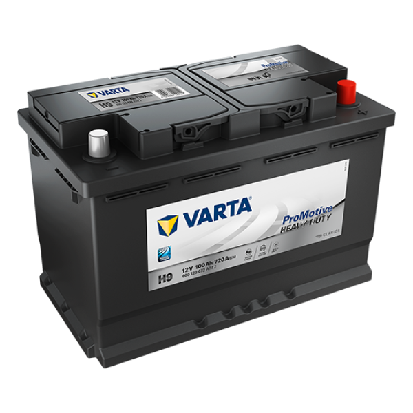 Promotive HD type H9 startaccu 12 volt 100 ah