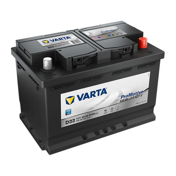 Promotive HD type D33 startaccu 12 volt 66 ah