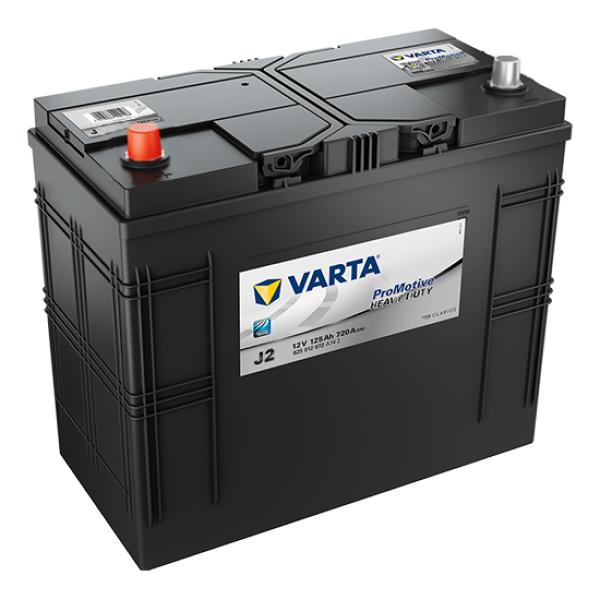 Promotive HD type J2 startaccu 12 volt 125 ah