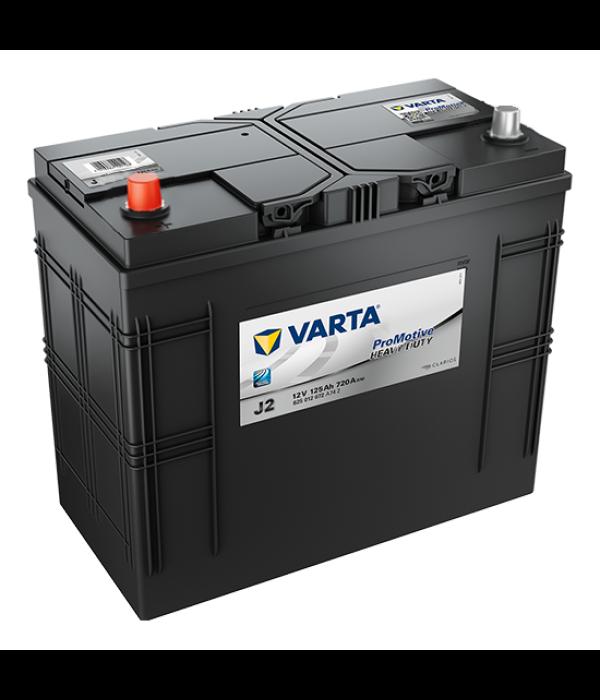 Varta Promotive HD type J2 startaccu 12 volt 125 ah