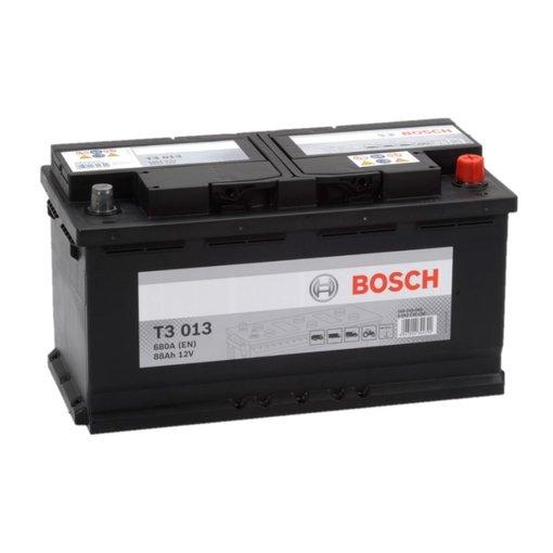 Bosch Accu 12 volt 88 ah T3013 Black truckline