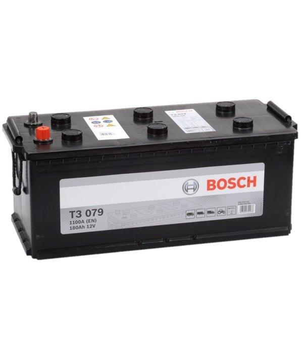 Bosch Startaccu 12 volt 180 ah T3 079 Black truckline