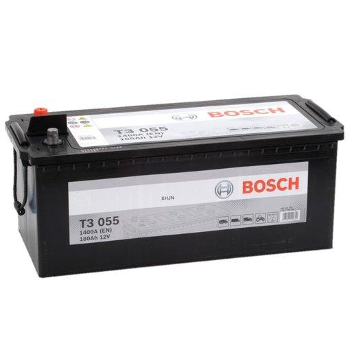 Bosch Accu 12 volt 180 ah T3055 Black truckline