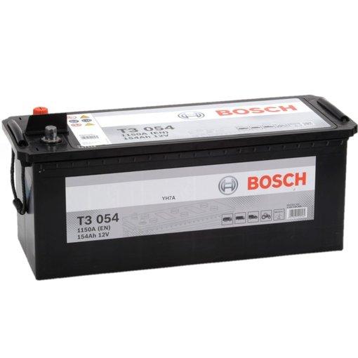Bosch Accu 12 volt 145 ah T3054 Black truckline