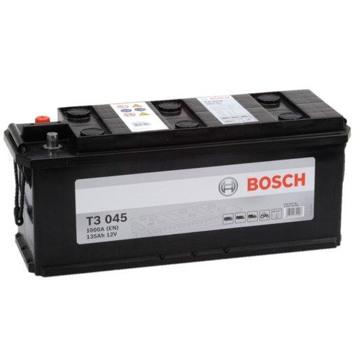Bosch Accu 12 volt 135 ah T3045 Black truckline