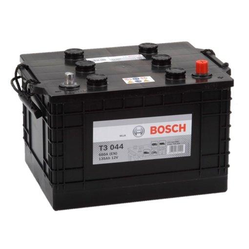 Bosch Accu 12 volt 135 ah T3044 Black truckline