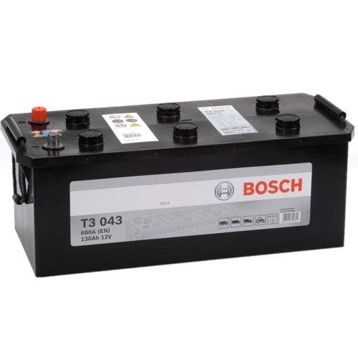 Bosch Accu 12 volt 130 ah T3043 Black truckline
