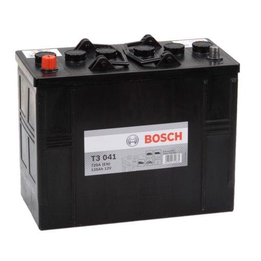Bosch Accu 12 volt 125 ah T3041 Black truckline