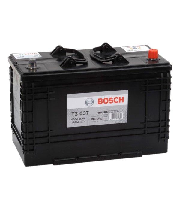 Bosch Startaccu 12 volt 110 ah T3 037 Black truckline