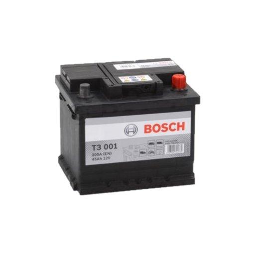 Bosch Accu 12 volt 45 ah T3001 Black truckline