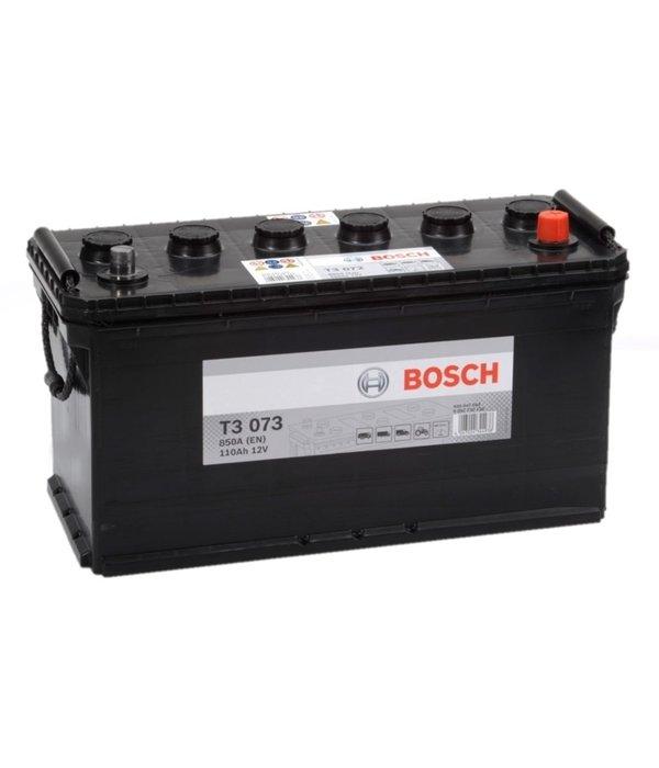 Bosch Startaccu 12 volt 110 ah T3 073 Black truckline