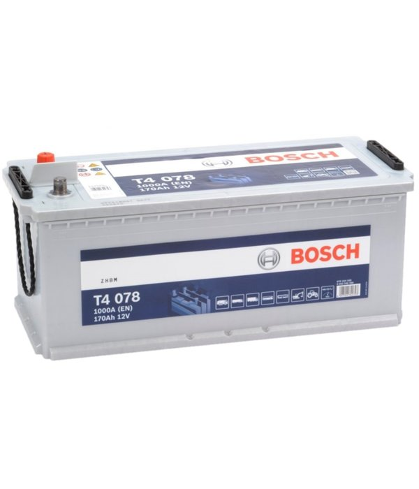 Bosch Startaccu 12 volt 170 ah T4 078 Blue truckline