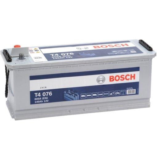 Bosch Accu 12 volt 140 ah T4076 Blue truckline