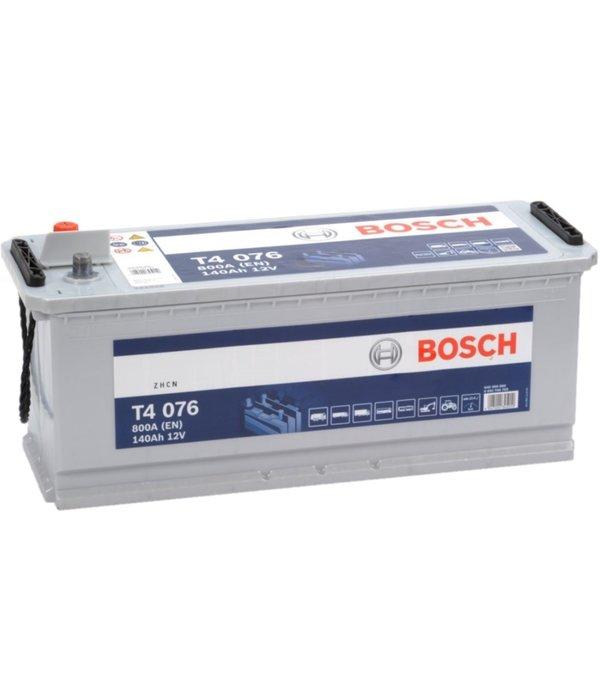 Bosch Startaccu 12 volt 140 ah T4 076 Blue truckline