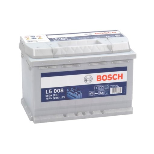 Bosch L5008 semi tractie accu 12 volt 75 ah