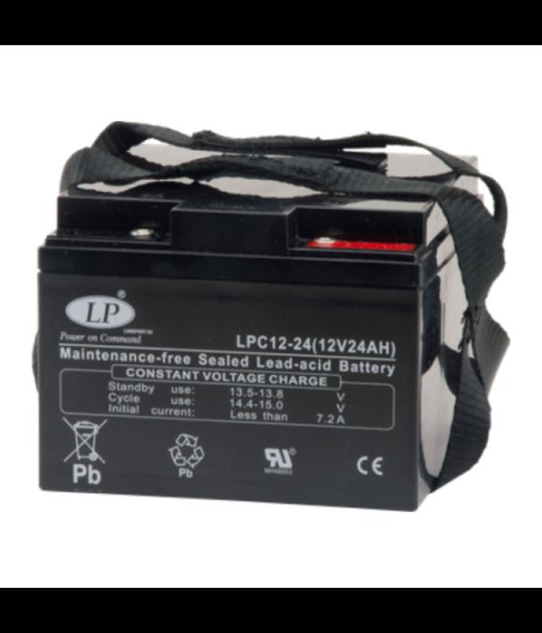 VRLA-LPC-AGM accu 12 volt 24 ah LPC12-24 t12