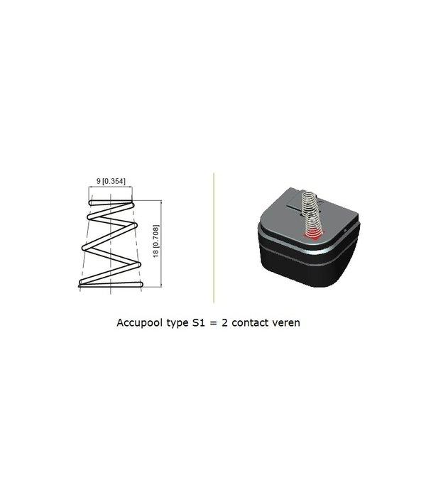 VRLA-LP accu 6 volt 4,5 ah LP6-4,5S