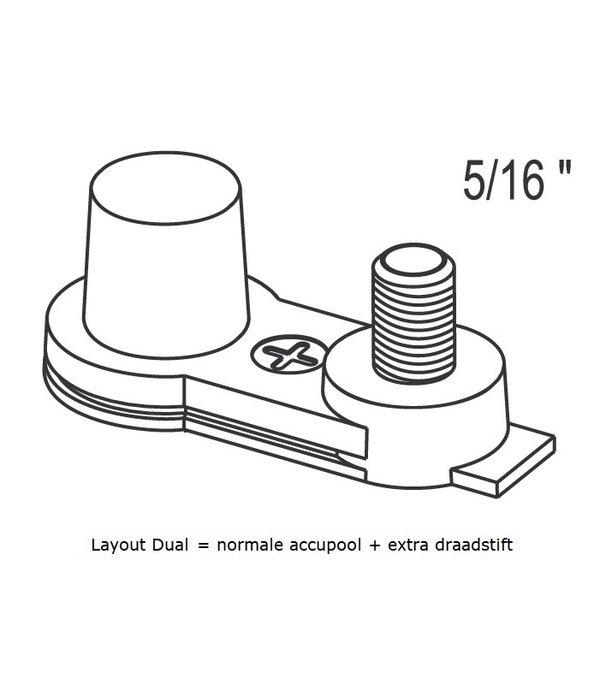 Dynac Semi tractie accu 12 volt 80ah Type 24DC SMF