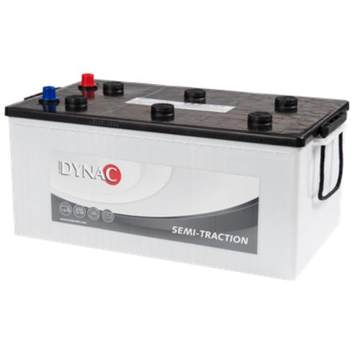 Dynac Semi tractie 12 volt 230 ah Type 96801 accu