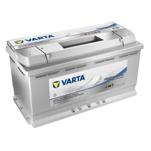 Varta LFD90 accu 12 volt 90 ah Dual Purpose