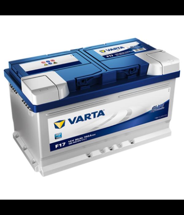 Varta Auto accu 12 volt 80 Ah Blue Dynamic type F17