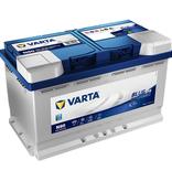 Varta Auto accu 12 volt 80 Ah EFB Blue Dynamic type N80