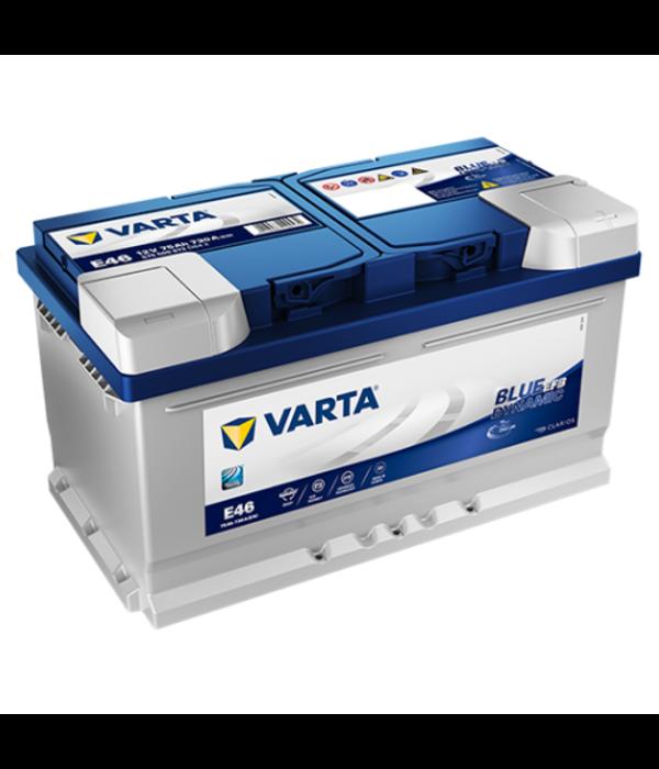 Varta Auto accu 12 volt 75 Ah EFB Blue Dynamic type E46